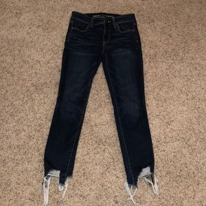 BRAND NEW AE Hi-Rise Jegging Crop